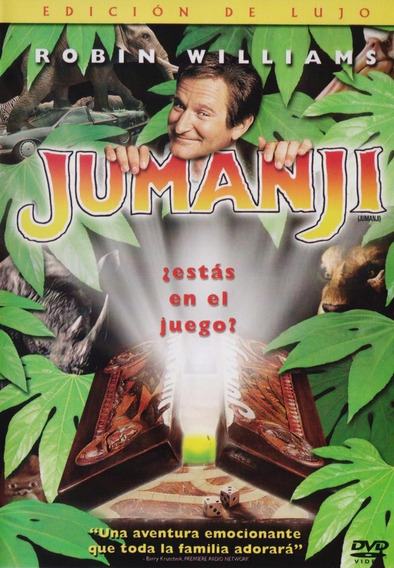 Jumanji Robin Williams 1995 Pelicula Dvd