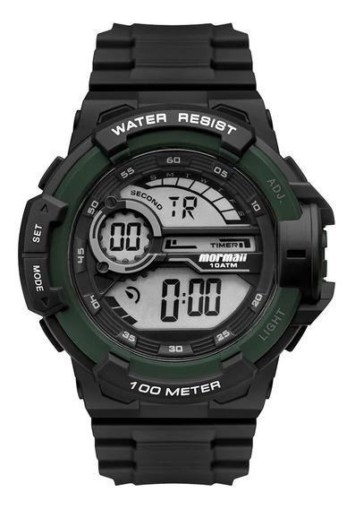 Relógio Mormaii Masculino Wave Preto Mo3660ad/8v