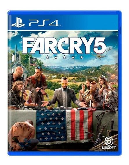 Far Cry 5 Ps4 Mídia Física Lacrado Pt Br
