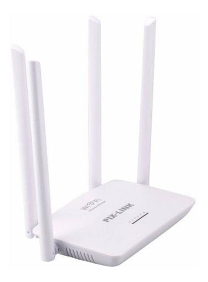 Roteador Wireless 300mbps 4 Antes Rápido Ideal Para Filmes E Jogos Online Antenas De Alta Potência Bivolt 110/220v T159