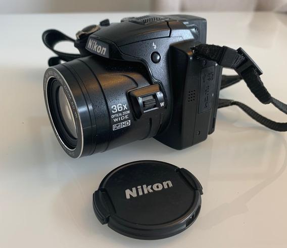 Câmera Fotográfica Semi Profissional - Nikon Coolpix P500
