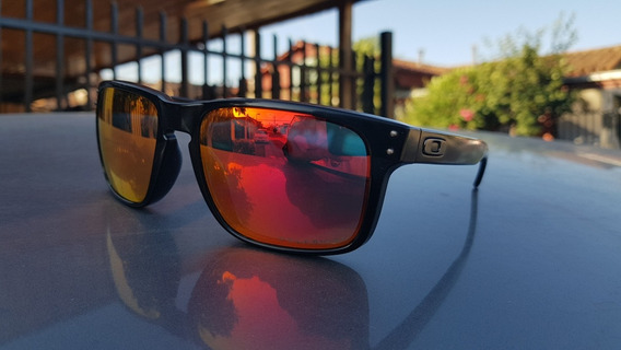 Oakley Holbrook Originales Matte Black With Ruby Iridium