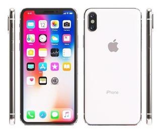 iPhone X 64gb Prateado Lacrado Parcelo No Boleto Bancário