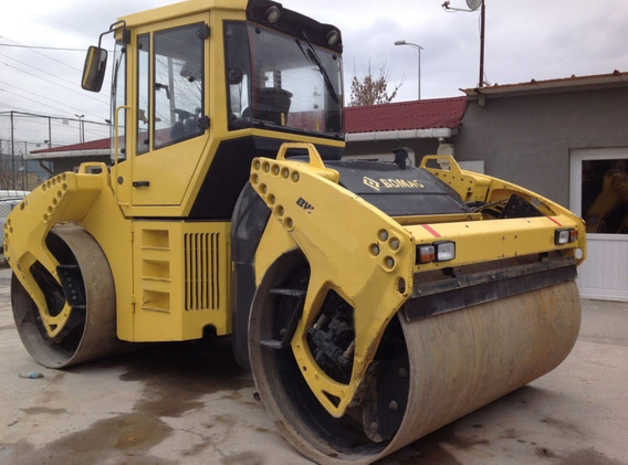 Bomag Bw 202 12 Ton. Año 2015 Horas:2069m/h