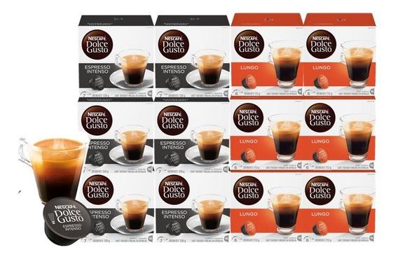Dolce Gusto Capsulas Mix Espressos Y Lungo Pack X12 Cajas
