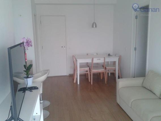 Apartamento Com 1 Dormitório À Venda, 50 M² Por R$ 590.000 - Brooklin - São Paulo/sp - Ap5964