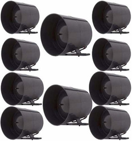 Kit 10 Sirenes Para Alarmes E Cercas Eletricas G1010