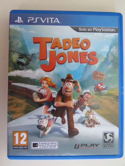 Tadeo Jones Playstation Ps Vita Raro - Mídia Física Usado