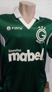 Camisa Oficial Goiás 1995 Finta Mabel - Colecionador