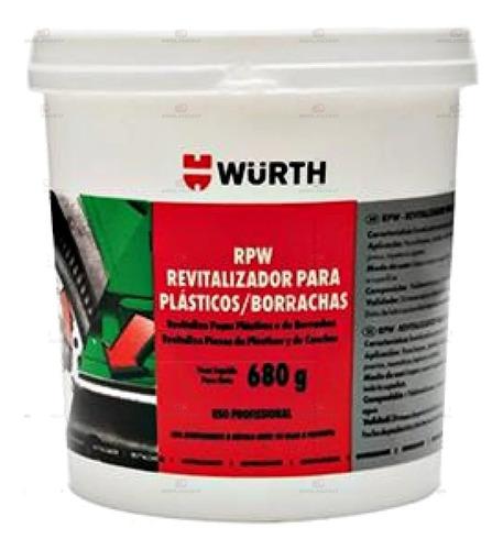 Imagem 1 de 5 de Revitalizador De Plásticos E Borrachas Rpw Wurth 680g Renova