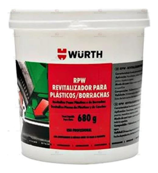 Revitalizador De Plásticos E Borrachas Rpw Wurth 680g Renova