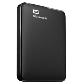 Disco Duro Portatil Elements 2tb Usb 3.0 Negro