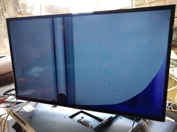 Tv Com Tela Quebrada Tcl Modelo Led L39,s4900