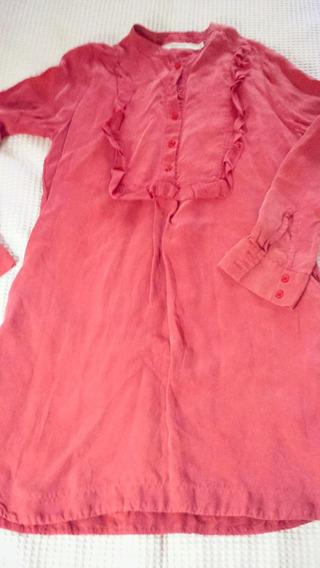 Vestido Maria Cher Tipo Camisa Invierno Sin Uso Nuevo! M/l
