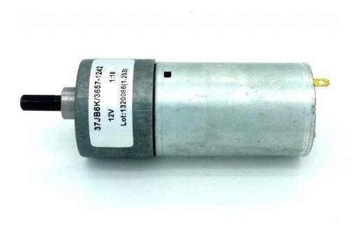 Motor Com Redução Dc 12v - 233rpm 25kgf.cm