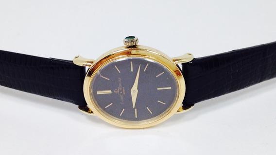Reloj De Oro De 18k Marca Baume & Mercier P/dama (ref 1515)