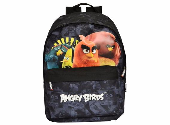 Mochila Escolar Teen Angry Birds Santino Frete Gratis