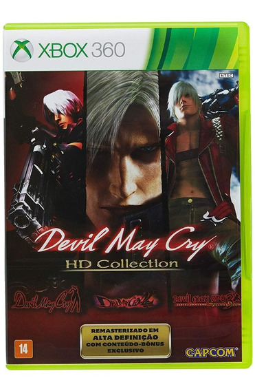 Jogo Devil May Cry Hd Collection - Xbox 360 - Novo - Física