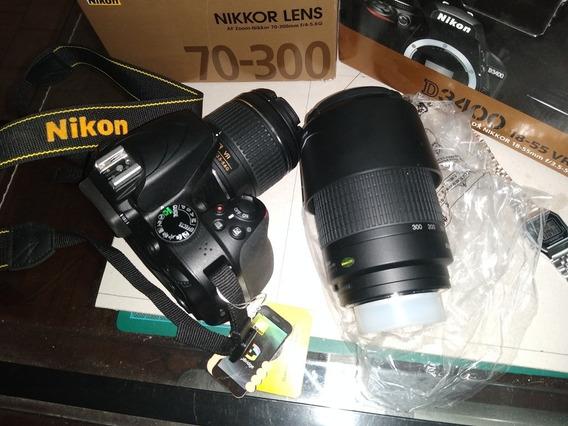 Venta Camara Nikon D3400 Kid Completo Más Lente 70-300