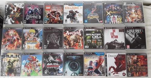 Juegos De Playstation 3 Originales Sólo Venta Somos Tienda