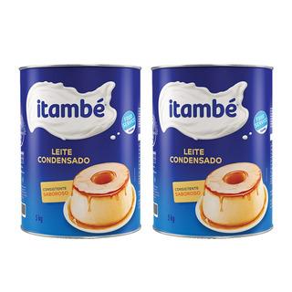 Kit Leite Condensado Itambé Lata 5kg - Total 10kg