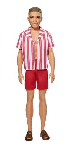 Imagen 1 de 4 de Barbie, Ken 60 Aniversario Look Original Playa