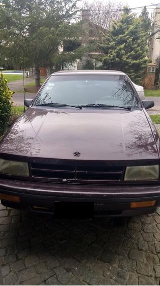 Dodge Shadow Motor 2.5 1993 Bordó 4 Puertas