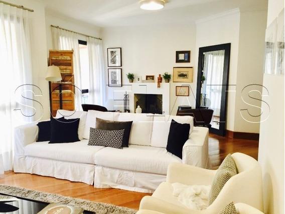Apartamento Com 156m², Lindamente Decorado, Com 4 Dorms, Prox A Av. Rebouças E Av. Paulista - Sf28903