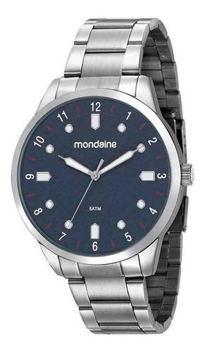 Relógio Masculino Analógico Mondaine Prata 53599gomvne2
