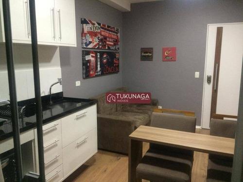 Studio Com 1 Dormitório À Venda, 36 M² Por R$ 290.000,00 - Vila Augusta - Guarulhos/sp - St0082