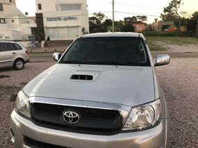 Toyota Hilux 3.0 Tdi Srv Cab Doble 4x2 Cuero 2010