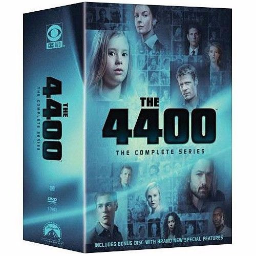 Coleção Dvd The 4400 Série Completa 15 Dvds Excelente Estado