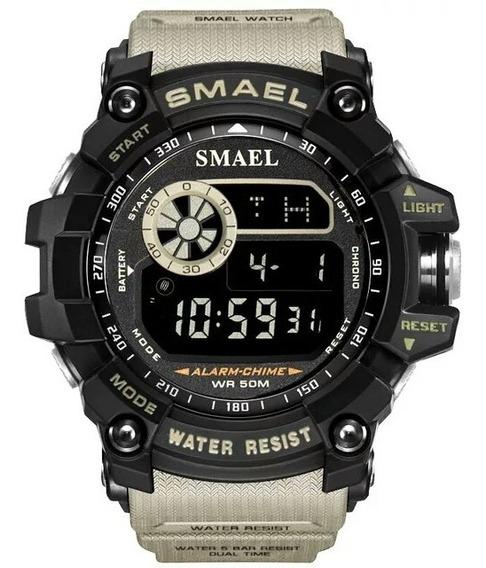 Relógio Smael 8110 Original Militar Esportivo Tático
