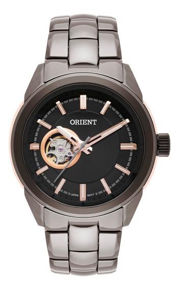 Relógio Orient Masculino Automático Nh3kk002 Esqueleto Ceram