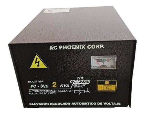 Regulador Elevador  De Voltaje  De  2 Kva  Entrad  85-130vot