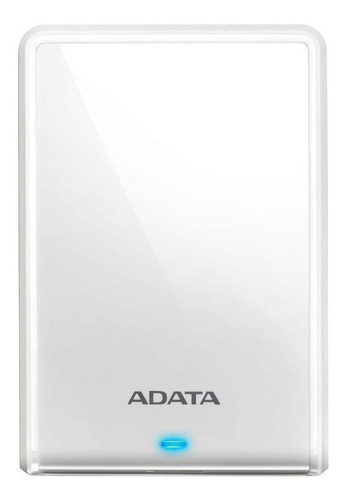 Imagen 1 de 3 de Disco duro externo Adata AHV620S-1TU3 1TB blanco