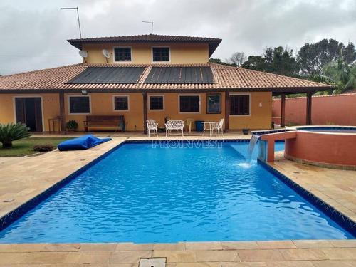 Casa Com 6 Dormitórios À Venda, 870 M² Por R$ 1.800.000,00 - Los Álamos - Vargem Grande Paulista/sp - Ca17827