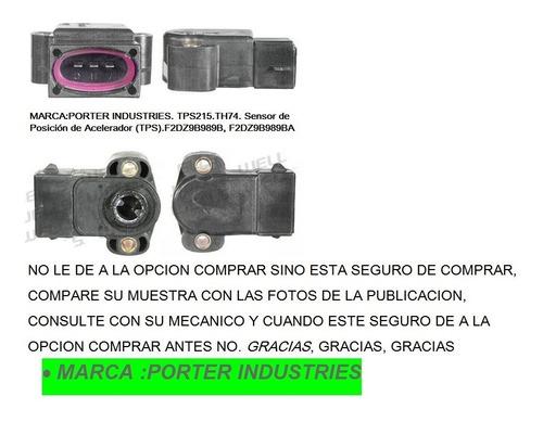 Sensor Tps215 Ford Econoline Club Wagon 1988/95 F-150 Ranger