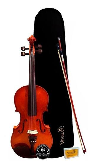 Violino Acústico 4/4 Vivace Mozart Mo44s Promoção!