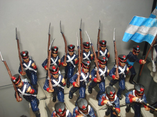 Set Soldados Granaderos Marchando Supertoys Envios