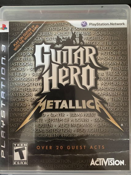 Guitar Hero Metallica - Jogo Original Ps3