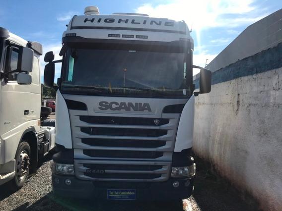 Scania R440 2015 6x4