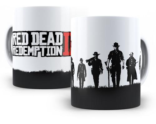 Imagem 1 de 3 de Caneca Red Dead Redemption 2 Rdr Em Cerâmica