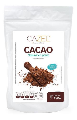 Imagen 1 de 5 de Cacao En Polvo Premium Oaxaca Natural 500g