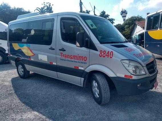 M.benz Sprinter 415 13/14 Van 10 X Cartão S/j