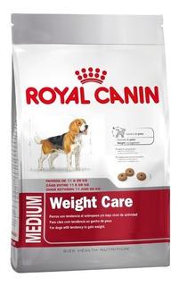 Royal Canin Medium Weight Care 15 Kg Mediana Control De Peso