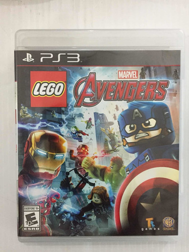 Marvel Lego Avengers Ps3