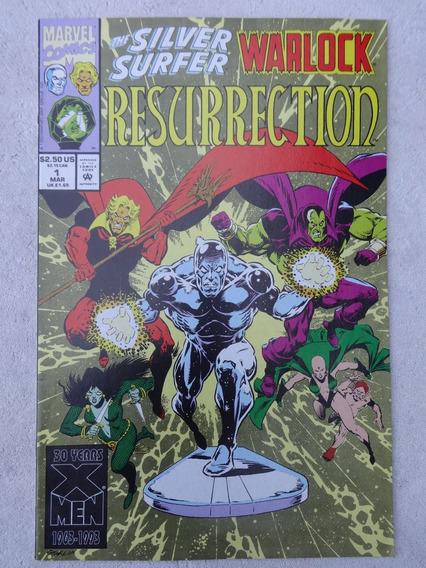 Silver Surfer And Warlock Resurrection Nº 1 A 4 Jim Starlin