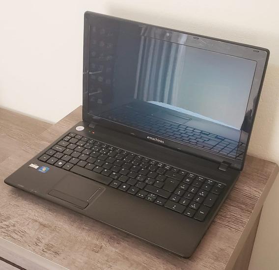 Notebook Acer Emachines E442 Amd Dual Core 4gb De Ram Ssd De 120gb Vga Dedicada Ati Radeon 4200 Tela Led 15,6 Polegadas