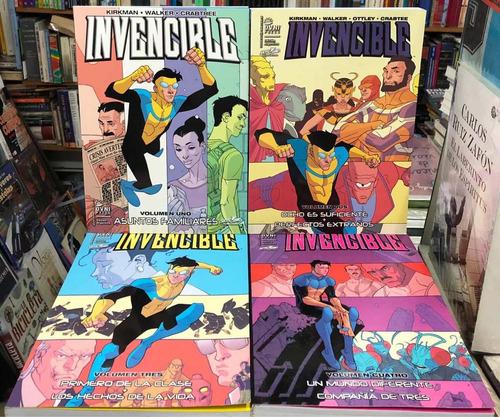 Invencible - Kirkman / Walker - Skybound - Combo 4 Vol